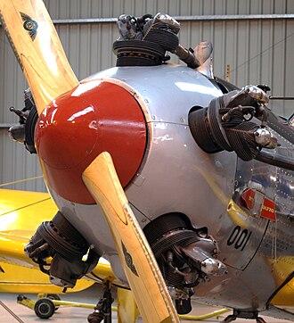 Kinner R-5 - Kinner R-56 installed in a PT-22 Recruit