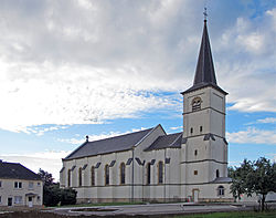 Weiler-la-Tour church