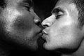 Kiss Sean Chappin + Juan Valdez 20100117.7D.02121.P1.L1.BW SML (4355500398).jpg