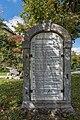 Klagenfurt Hallegger Strasse 152a Gut Hallegg Chronik im Korbbogenportal 05102015 7871.jpg