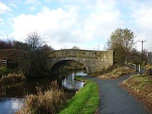 Listed buildings in Hapton, Lancashire - Image: Knotts Bridge