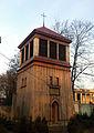 Kościół św. Józefa w Łodzi - dzwonnica 2012.JPG