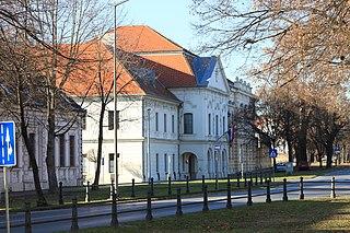 County in eastern Croatia
