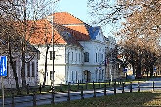 """Vukovar-Srijem County - """"Županija Palace"""" of Vukovar-Srijem County in Vukovar"""