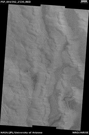 Korolev (Martian crater) - Image: Korolev Crater