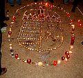 Kossuth Hun crest candles.JPG