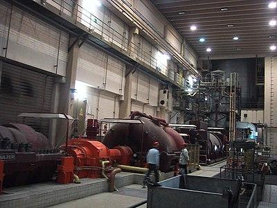 Picture of Druckluftspeicher- und Gasturbinenkraftwerk Huntorf