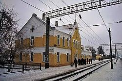 Kryzhopol railway station.jpg