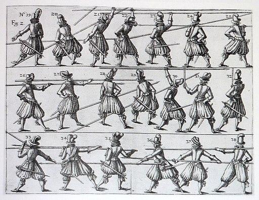 Kuenstliche Picquen-Handlungen Wallhausen 1617