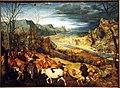 Kunsthistorisches Museum Wien, Pieter Bruegel d.Ä., Viehtrieb.JPG