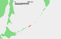Location of 乌鲁普岛 / 得撫島