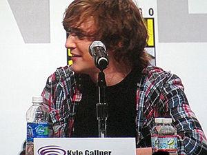 Kyle Gallner - Gallner at WonderCon 2010.