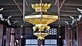 Kyoto Nishi Hongan-ji Korridor zwischen den Hallen Lampe 1.jpg