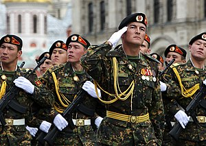 8th Guards Motor Rifle Division - Soldiers of the division during the 2010 Moscow Victory Day Parade.
