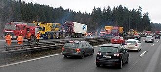 Microsleep - Traffic collision, a possible consequence of microsleep