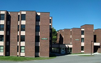 Lyndon State College - Residence Halls: Whitelaw (left) and Crevecoeur (right)