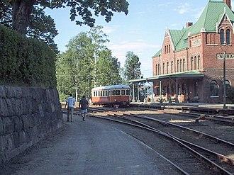 Nora, Sweden - Nora railway station