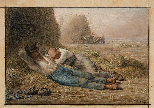 La Méridienne - Jean-François Millet - Museum of Fine Arts,Boston