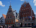 La Maison des Têtes noires de Riga, (Melngalvju nams) Riga, .jpg