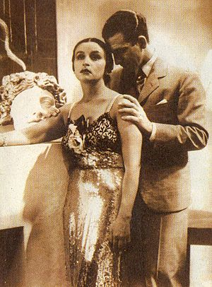 La fuga (1937 film) - Tita Merello and Francisco Petrone in La fuga