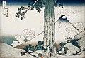 La passe de Mishima de K. Hokusai (exposition Fukami, Paris) (30008037788).jpg