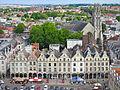 La place des Héros in Arras aerial 2015.jpg