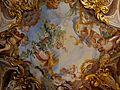 La volta della Sala dell'estate al secondo piano nobile affrescata da Gregorio De Ferrari.JPG
