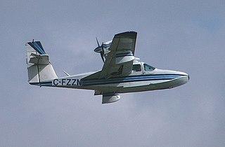Lake Buccaneer amphibious flying boat by Lake Aircraft