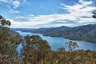 dam in Victorian Alps, Victoria