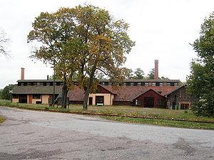 Ramnäs - Lancashiresmedjan, a forge in Ramnäs