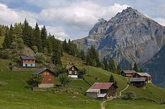 Banking in Switzerland - Switzerland's mountainous terrain helps to store gold in underground bunkers.
