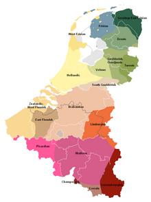 nederland in het duits