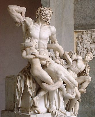 Laocoön and His Sons - Oblique view
