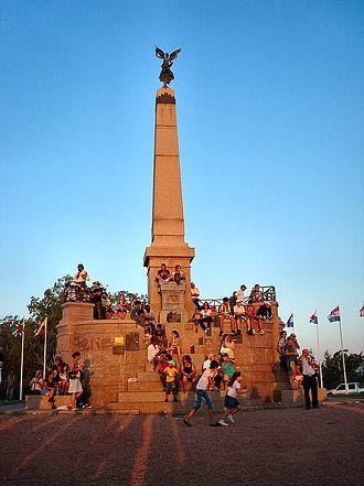Las Piedras, Uruguay - The Obelisc of Las Piedras