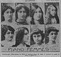 Lauréates du Concours de piano femmes 1913 du Conservatoire.jpg