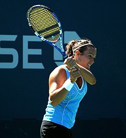 Laura Pous al US Open (2011)