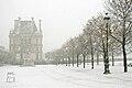 Le jardin des Tuileries sous la neige, le 8 décembre 2010 01.jpg