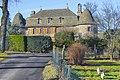Le manoir de Lachaux, commune de Carlat, Cantal, France, Europe.jpg