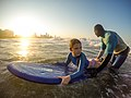 Learning to surf with Ocean Adventures, Durban beach front. KwaZulu Natal, South Africa (20519705341).jpg