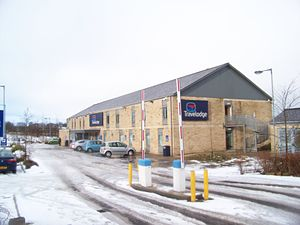 Travelodge UK - A Travelodge at Leeds Bradford International Airport.
