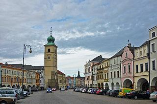 Litomyšl Town in Pardubice, Czech Republic