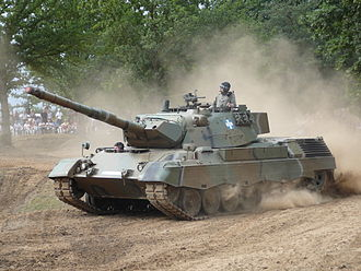 Chilean Army - Image: Leopard 1v lesany