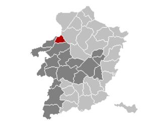 Leopoldsburg - Image: Leopoldsburg Limburg Belgium Map