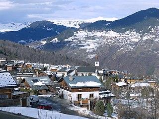 Les Allues Commune in Auvergne-Rhône-Alpes, France