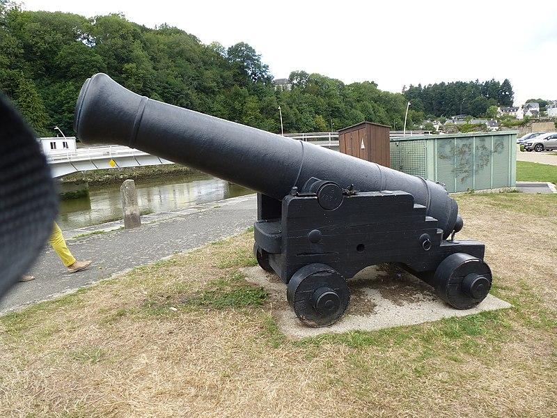 Les canons du chateau