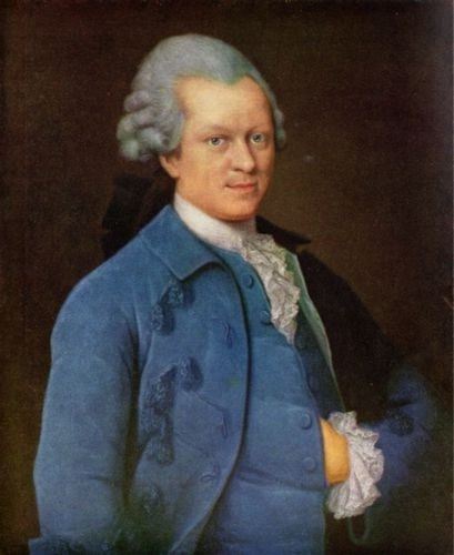 Lessing in blue