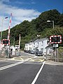 Level crossing on the Paignton and Dartmouth Railway - geograph.org.uk - 1449409.jpg
