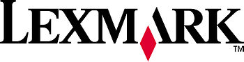 English: Lexmark logo Deutsch: Lexmark logo