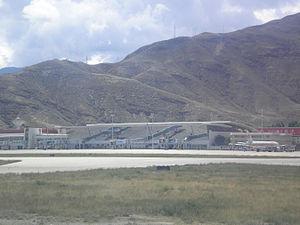 Lhasa Gonggar Airport - Image: Lhasa Gonggar Airport 01
