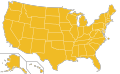 Libertarian Party Ballot Access Locator Map, 1996 (United States of America).png